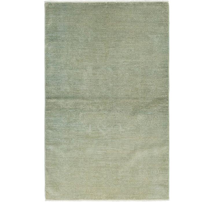 3' 3 x 5' 2 Over-Dyed Ziegler Rug