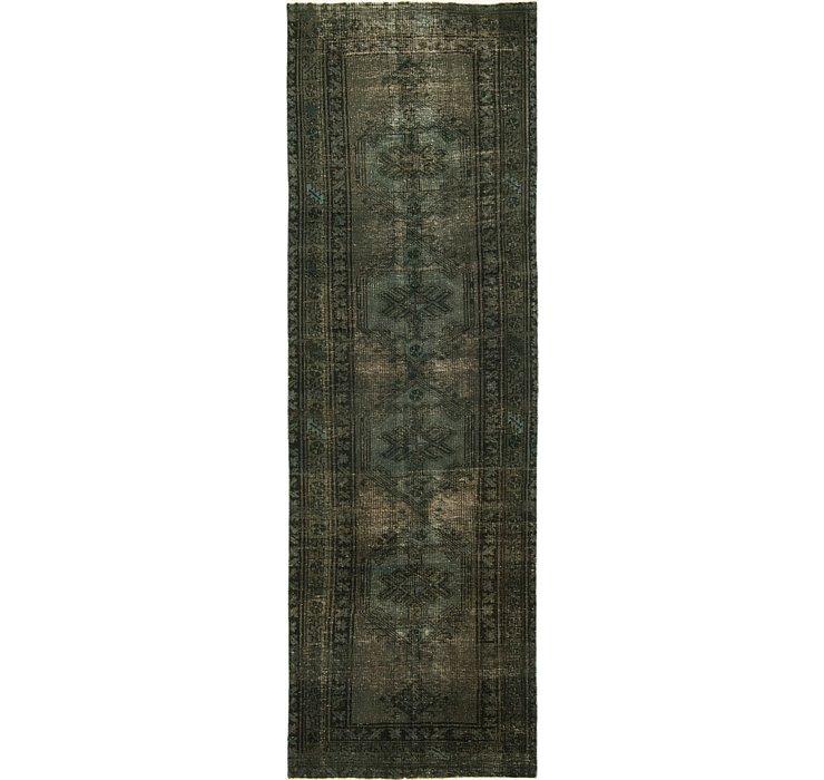 3' 5 x 10' 8 Ultra Vintage Persian R...