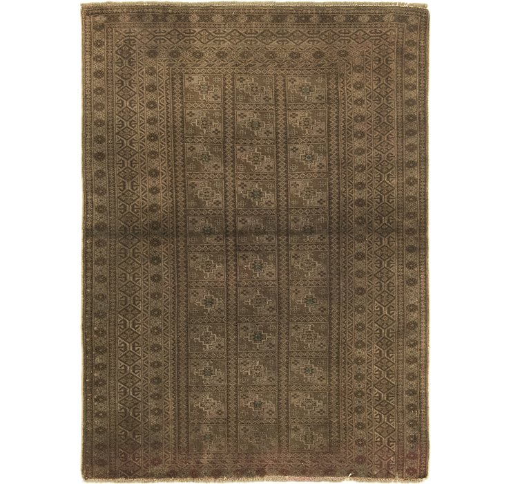 3' 3 x 4' 7 Ultra Vintage Persian Rug