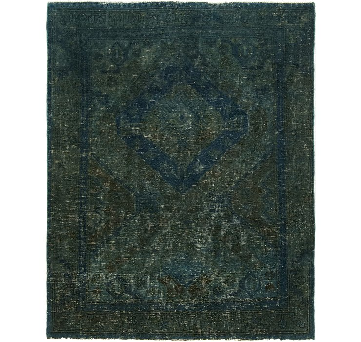 3' 9 x 4' 9 Ultra Vintage Persian S...