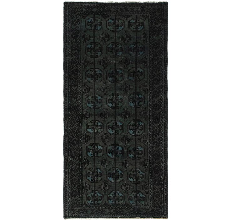 95cm x 200cm Ultra Vintage Persian R...