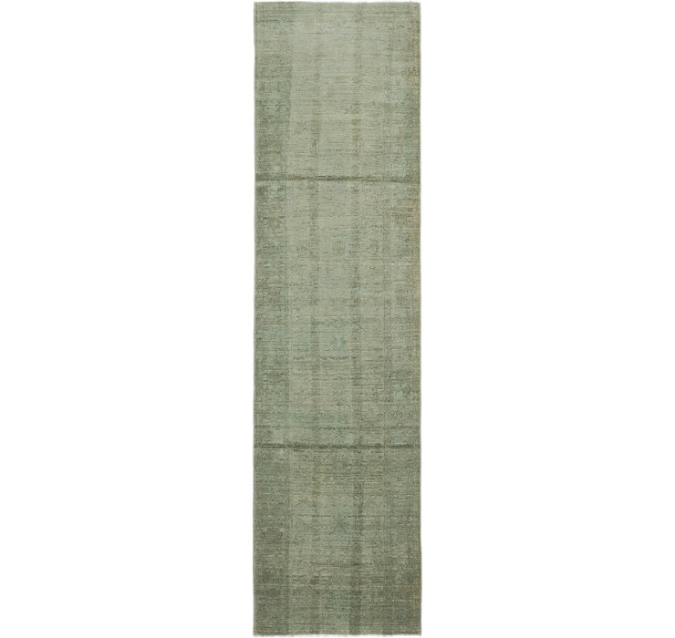 2' 6 x 9' 5 Over-Dyed Ziegler Runne...