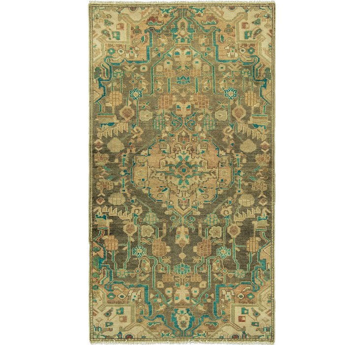 90cm x 165cm Ultra Vintage Persian Rug