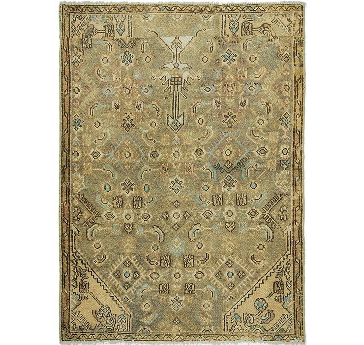 90cm x 127cm Ultra Vintage Persian Rug