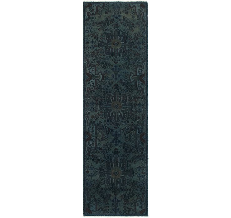 2' 5 x 9' Ultra Vintage Persian R...