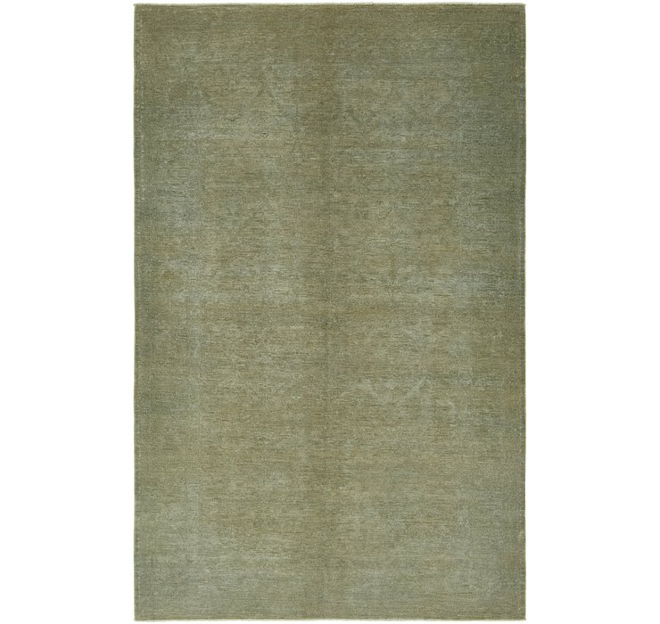 5' 10 x 9' 5 Over-Dyed Ziegler Rug