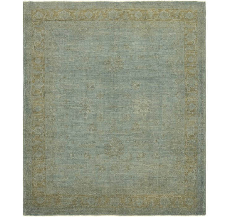 10' 2 x 12' Over-Dyed Ziegler Rug