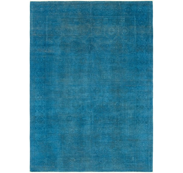 9' 7 x 13' 5 Over-Dyed Ziegler Rug