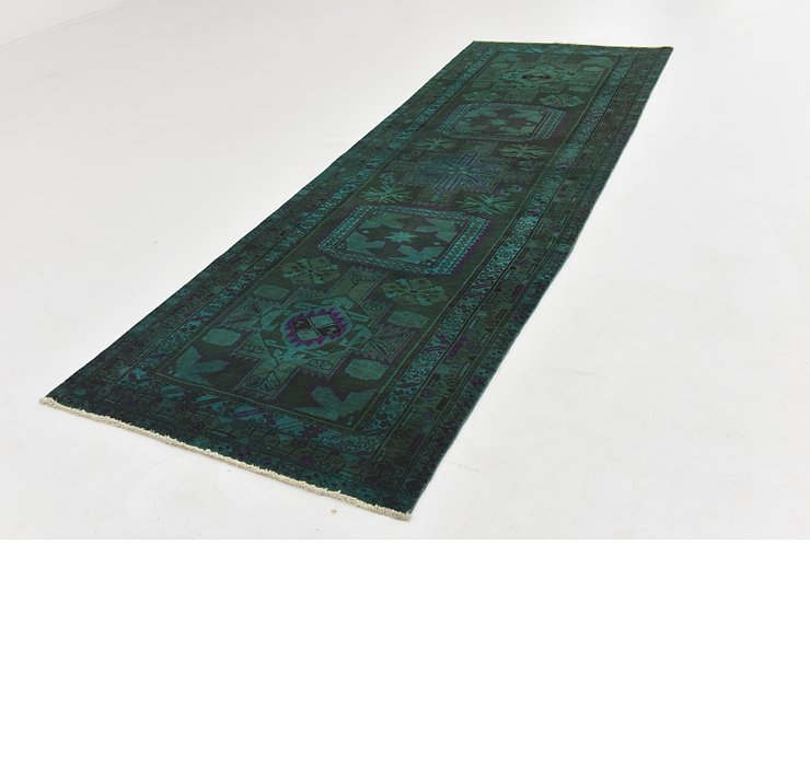 3' 6 x 10' 4 Ultra Vintage Persian R...