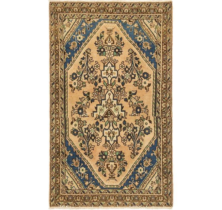 107cm x 178cm Ultra Vintage Persian Rug