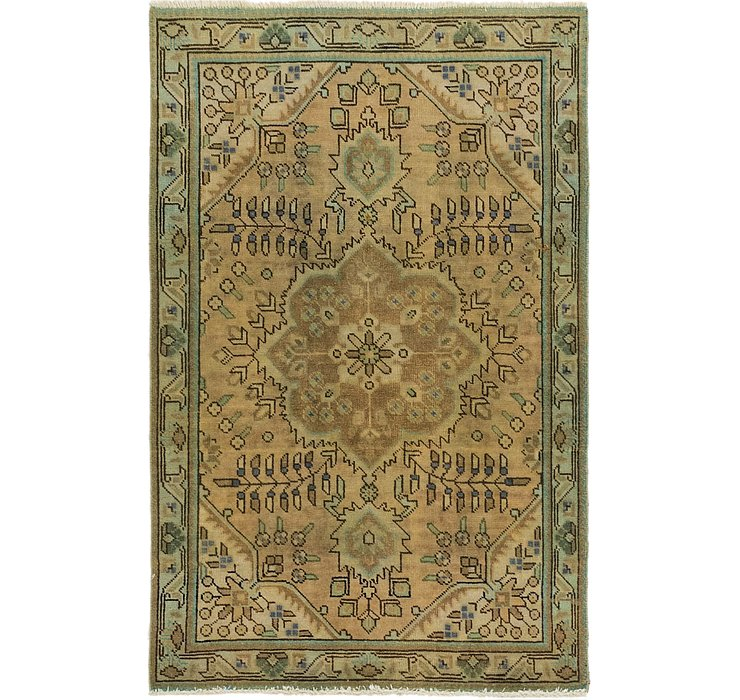100cm x 152cm Ultra Vintage Persian Rug