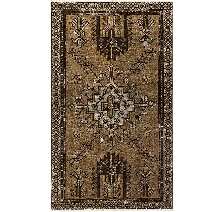 110cm x 193cm Ultra Vintage Persian Rug