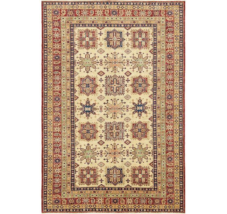 6' 6 x 9' 11 Kazak Oriental Rug