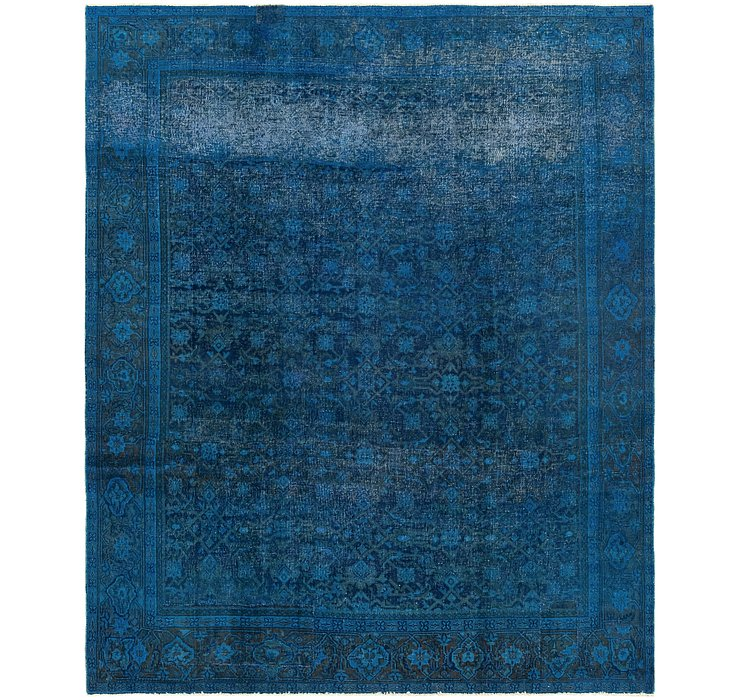 6' 9 x 8' 4 Ultra Vintage Persian Rug