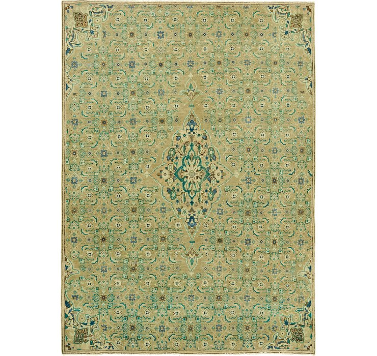 225cm x 307cm Ultra Vintage Persian Rug