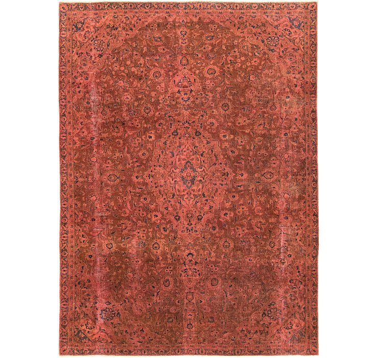 6' 10 x 9' 4 Ultra Vintage Persian Rug