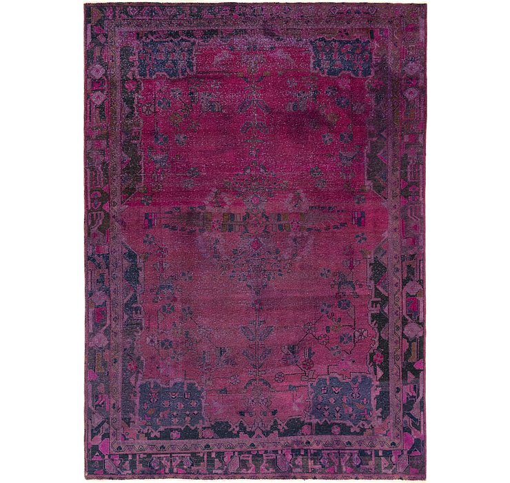 7' 4 x 10' 3 Ultra Vintage Persian Rug