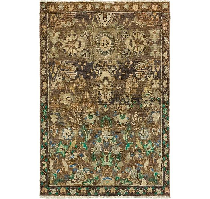2' 6 x 3' 9 Ultra Vintage Persian Rug