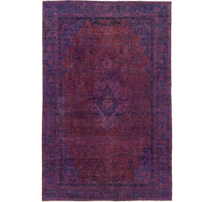 6' 1 x 9' 7 Ultra Vintage Persian Rug