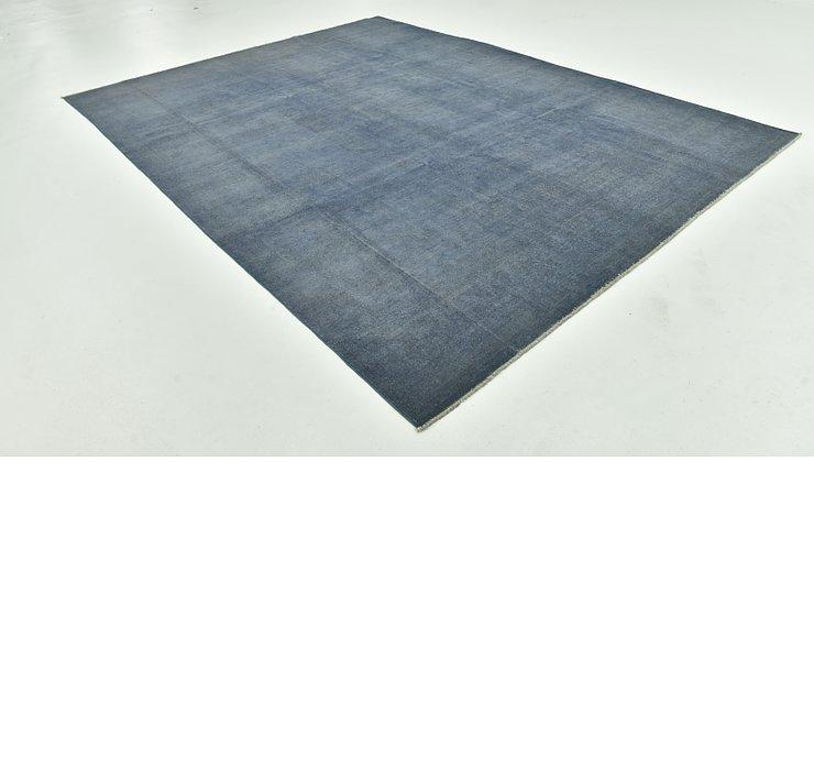 8' 9 x 11' 6 Over-Dyed Ziegler Rug