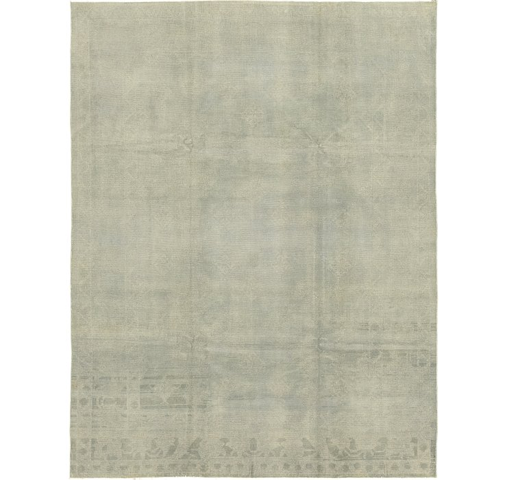 7' 7 x 10' Over-Dyed Ziegler Rug