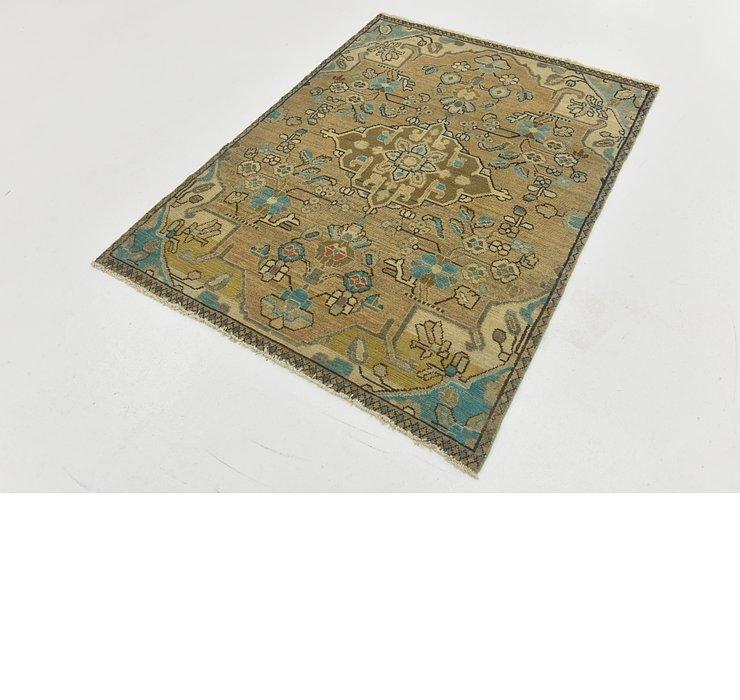 3' 7 x 5' Ultra Vintage Persian Rug