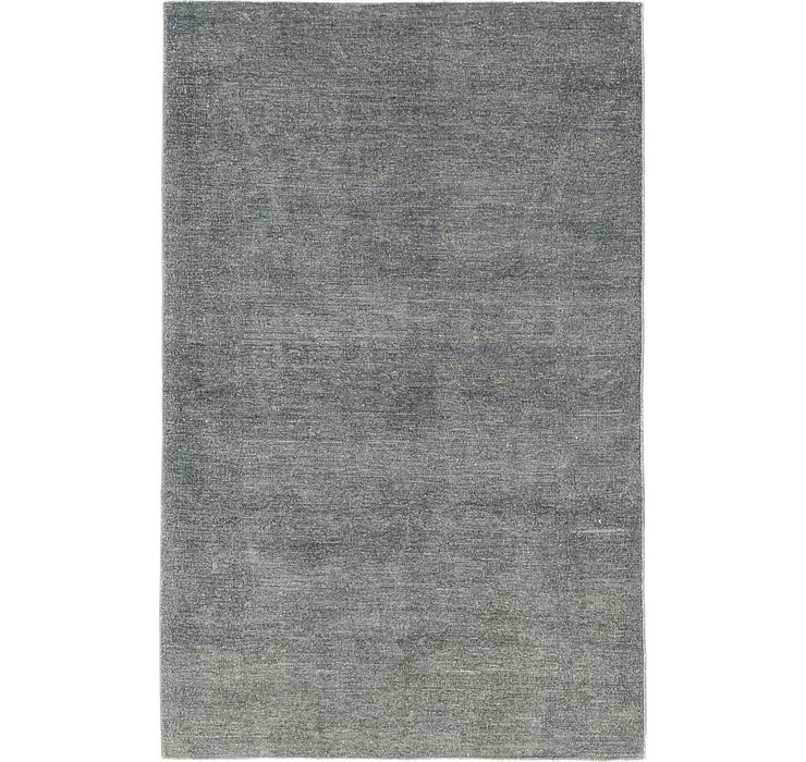 3' 10 x 6' 1 Over-Dyed Ziegler Rug