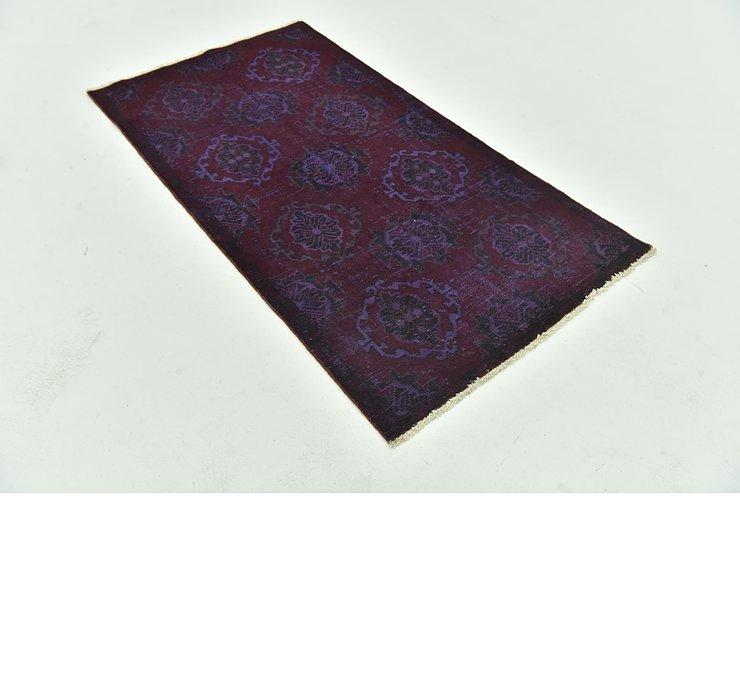 90cm x 173cm Ultra Vintage Persian Rug