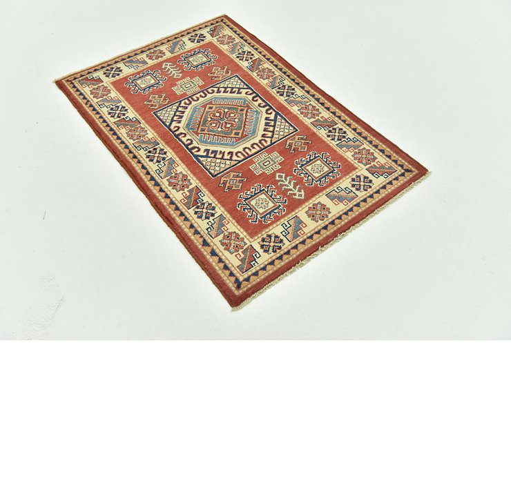 2' 7 x 4' Kazak Persian Rug