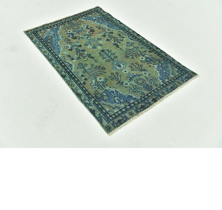 97cm x 152cm Ultra Vintage Persian Rug