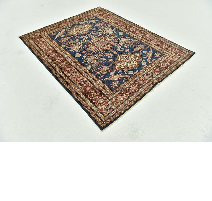4' 9 x 5' 10 Kazak Oriental Square Rug