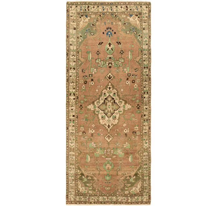 3' 3 x 8' 1 Ultra Vintage Persian R...
