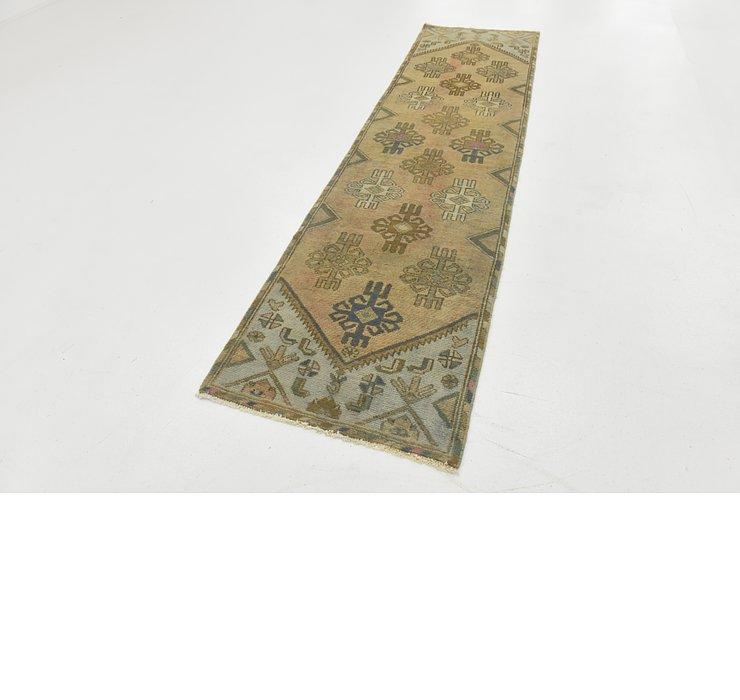 2' 4 x 9' Ultra Vintage Persian R...