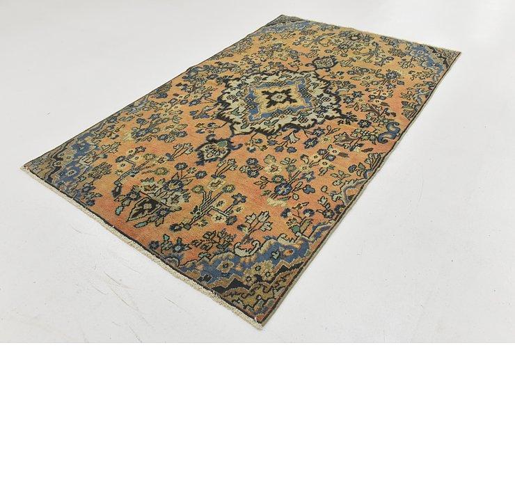 4' 8 x 7' 10 Ultra Vintage Persian Rug