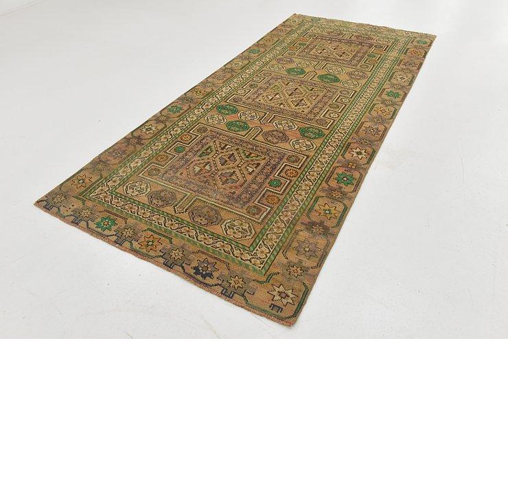 4' 2 x 9' 3 Ultra Vintage Persian R...