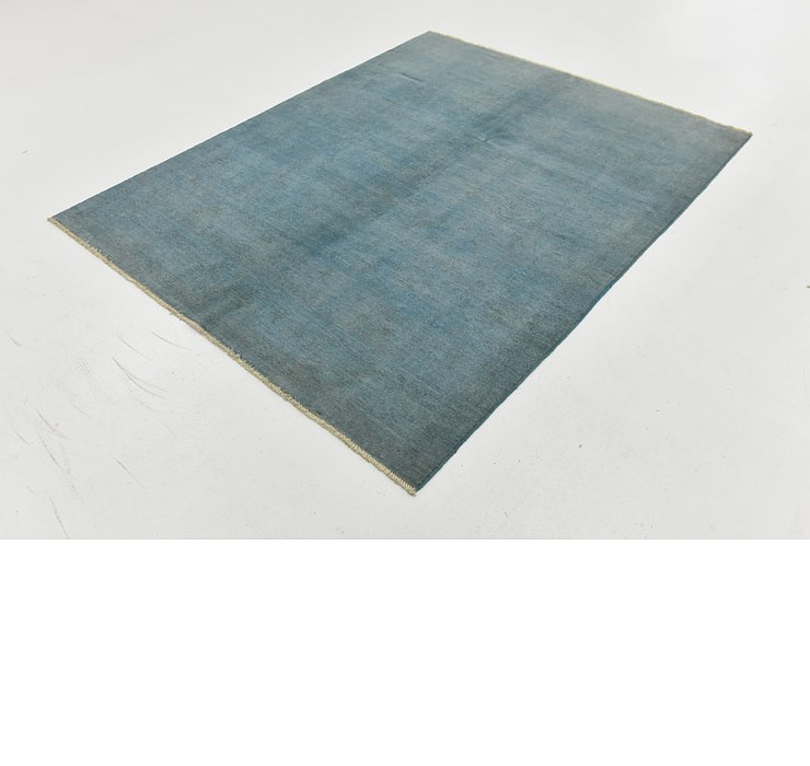 4' 11 x 6' 3 Over-Dyed Ziegler Rug