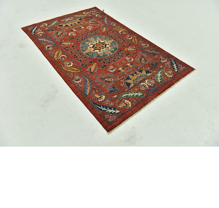 117cm x 188cm Kazak Oriental Rug