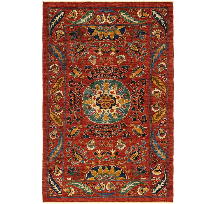 3' 10 x 6' 2 Kazak Oriental Rug