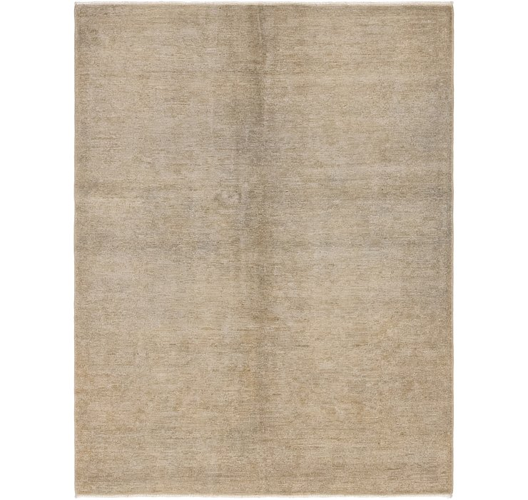 4' 8 x 6' 2 Over-Dyed Ziegler Rug