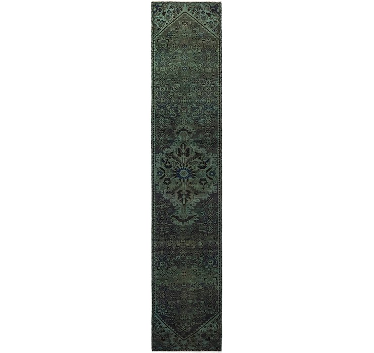 2' 5 x 13' Ultra Vintage Persian R...