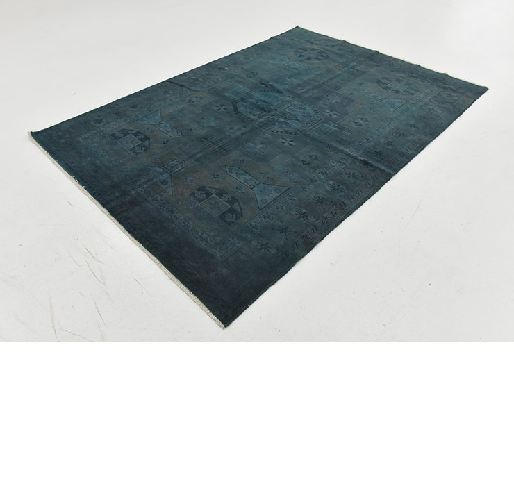 4' 11 x 7' 1 Over-Dyed Ziegler Rug