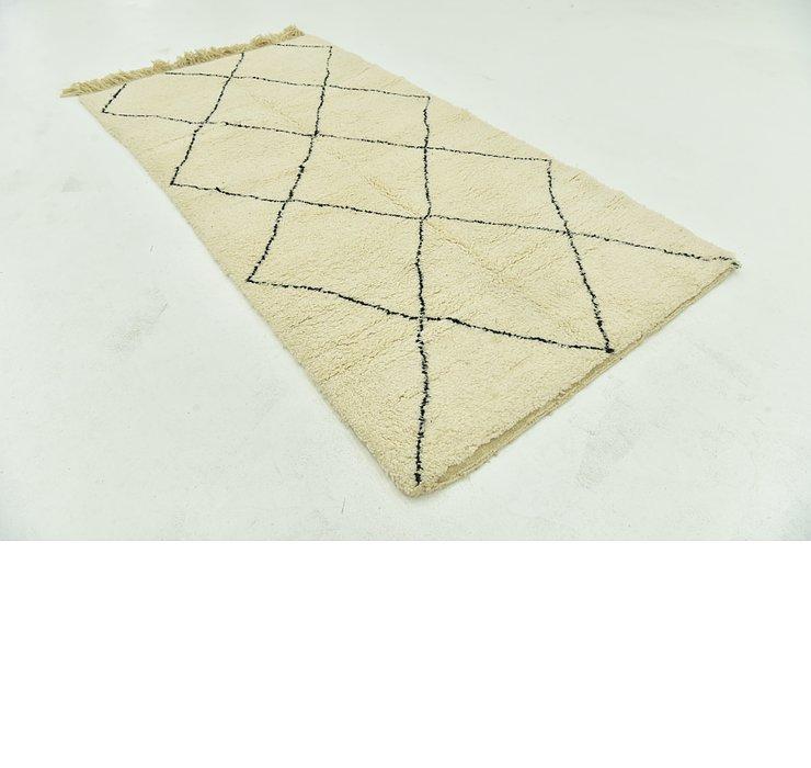 4' 6 x 8' 7 Moroccan Rug