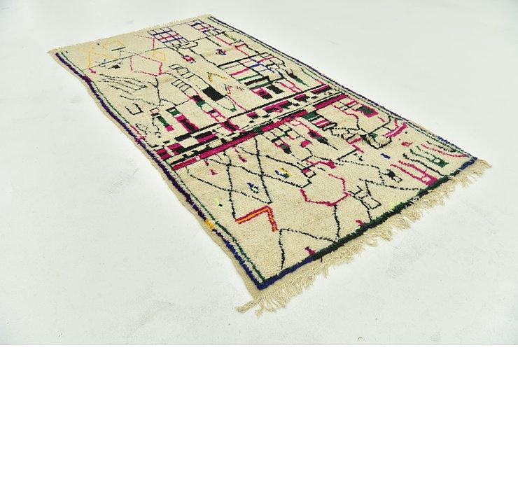 4' 7 x 9' Moroccan Rug