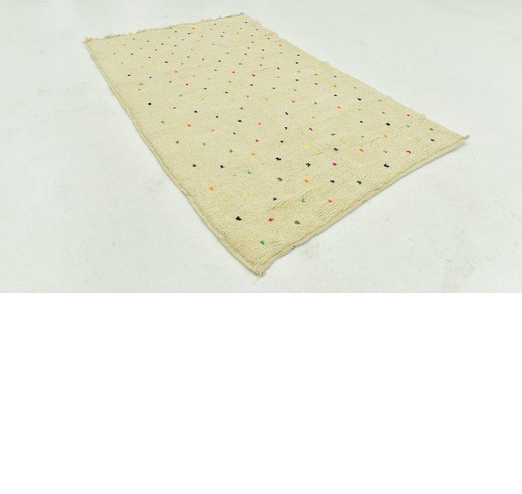 4' 9 x 7' 8 Moroccan Rug
