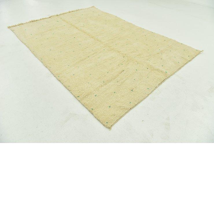 6' 10 x 9' 5 Moroccan Rug