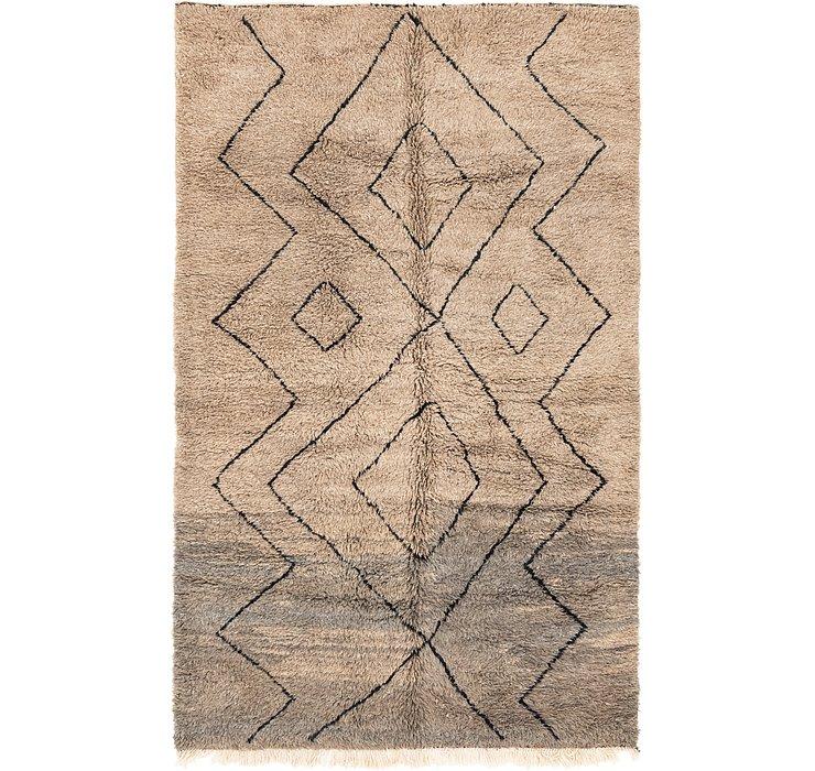 6' 7 x 10' 9 Moroccan Rug