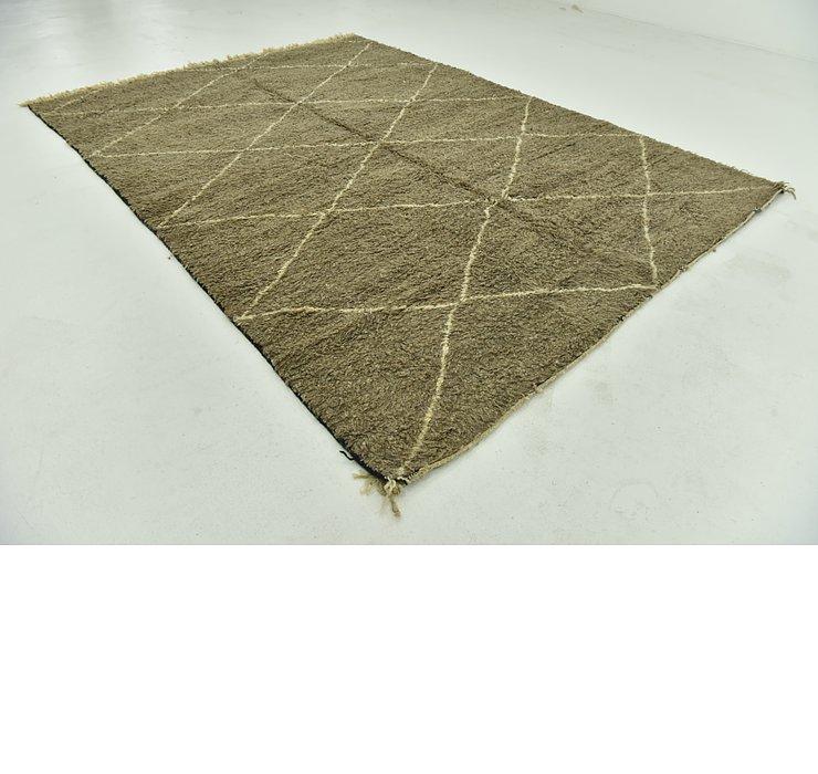 8' 7 x 11' 10 Moroccan Rug