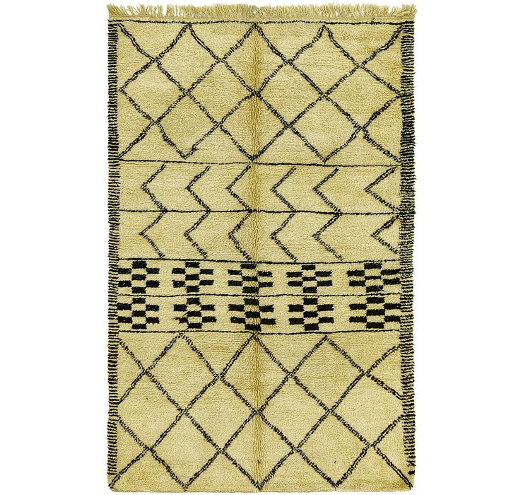 6' 4 x 10' 3 Moroccan Rug