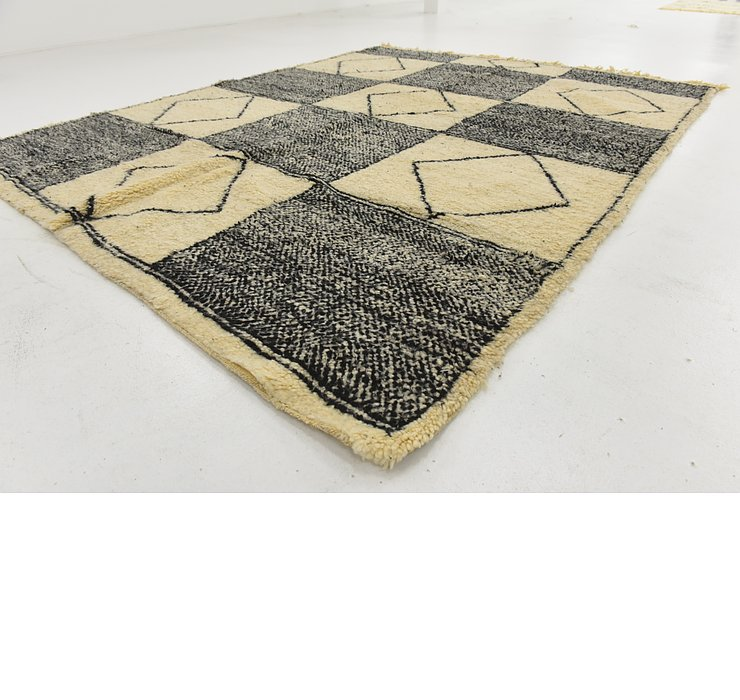 7' 5 x 9' 9 Moroccan Rug