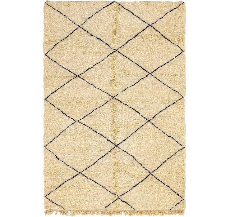 8' x 9' 7 Moroccan Rug